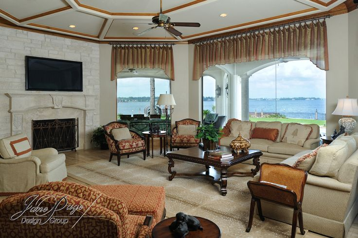 Donna's Blog: stone fireplaces, Jane Page Design Group