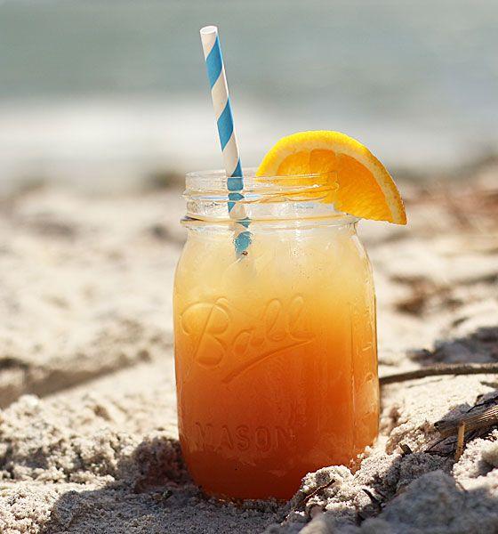 Cranberry Orange Cream Cocktail