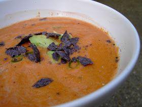 Vegan Thyme: Creamy Vegan Tomato Soup: Hello Vitamix! Hello Humidity! Goodbye Ten Pounds!