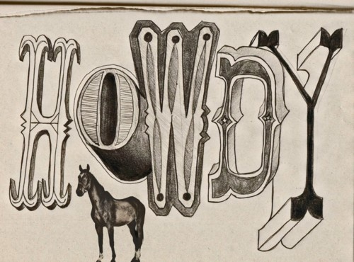 Western Fonts Script Pinterest