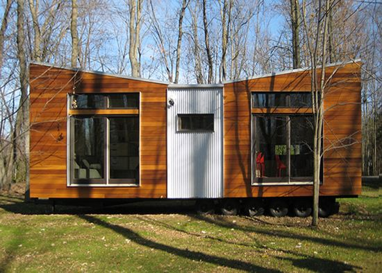 Sustain prefab modular homes micro house designs for Prefab studio cottage