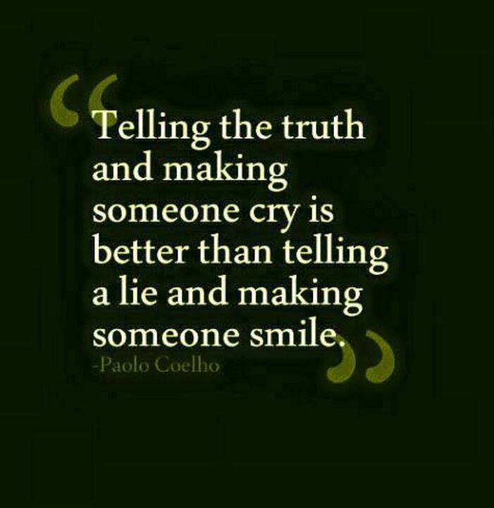 Telling the truth | Wisdom Quotes | Pinterest