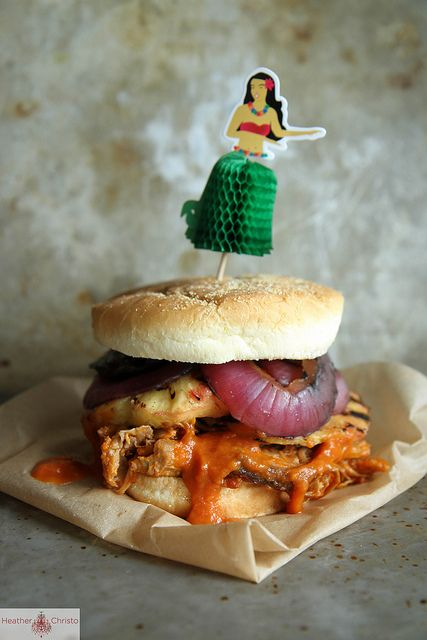 Hawaiian Pulled Pork Sandwich by Heather Christo, via Flickr