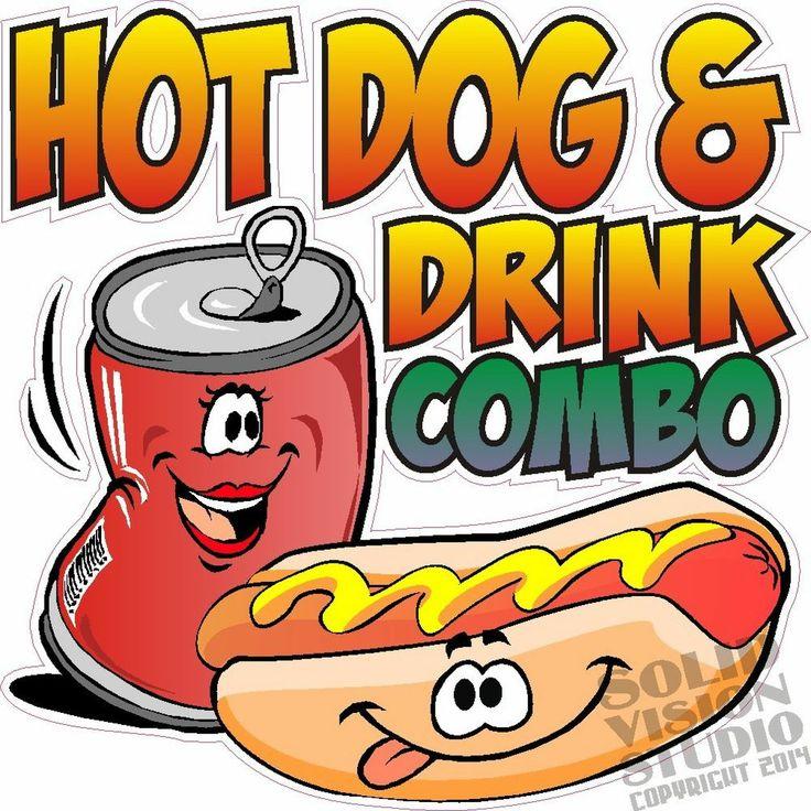 Hot Dog Cart Signs