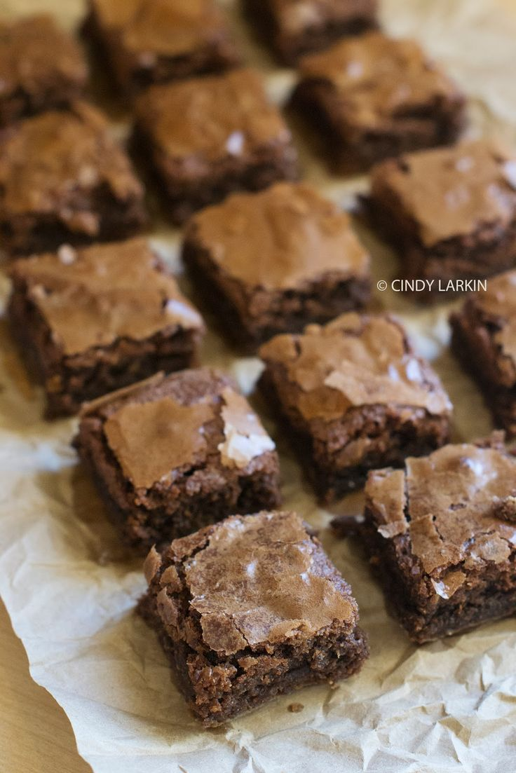 Peanut Butter Brownie Bites | Recipes | Pinterest