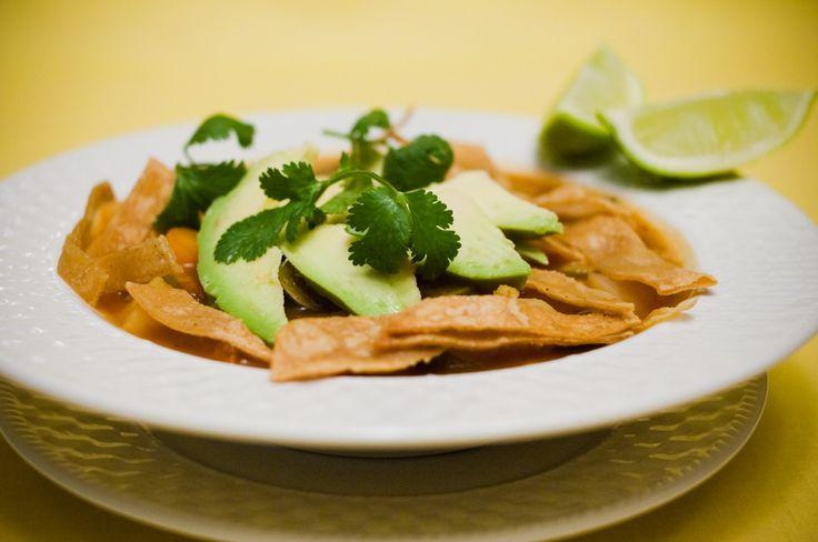 Vegan Tortilla Soup | Veggie! | Pinterest