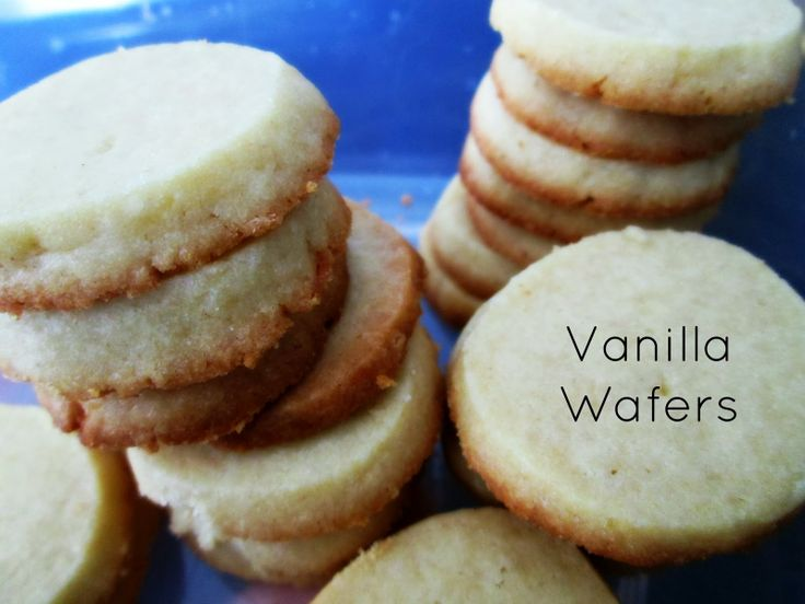 Vanilla Wafers | The Rehomesteaders | Pinterest