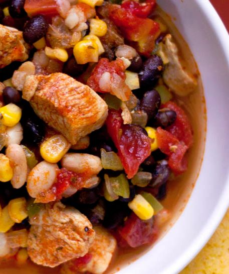 Chicken Chili with Black Beans and Corn (and GIVEAWAY)