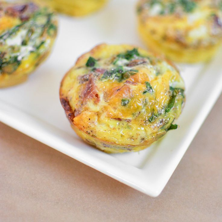 egg muffin with peppers kale and cheddar recipes dishmaps egg muffin ...
