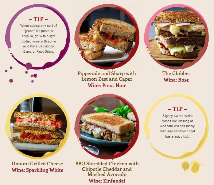 Wine & Grilled Cheese Pairings for National Grilled Cheese Day ...