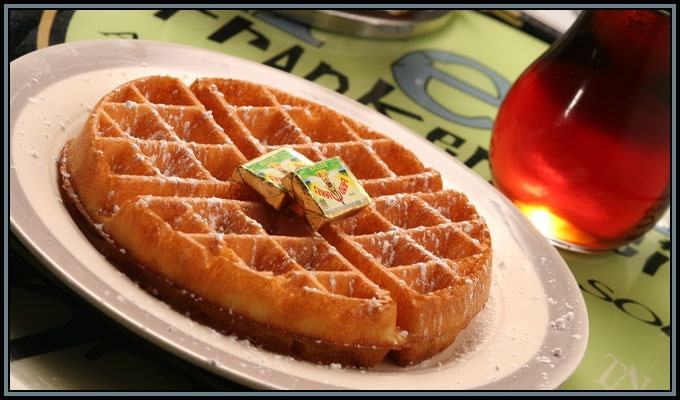 Aretha Frankenstein's Waffles Of Insane Greatness Recipe ...