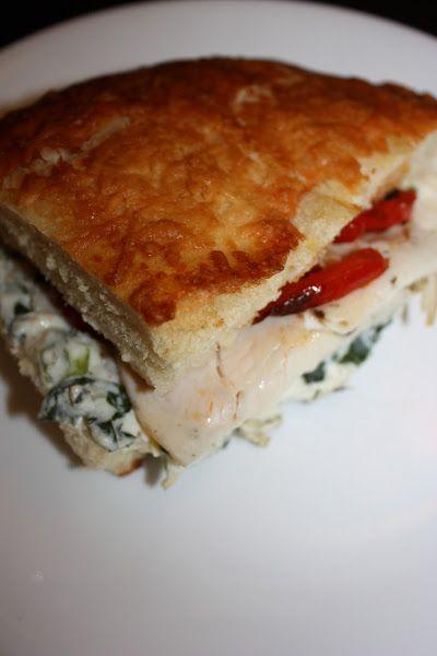 Panera Breads Turkey Artichoke Panini - full details→ http ...