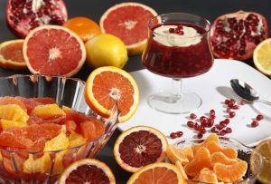 Winter citrus adds lighter touch to heavy meals