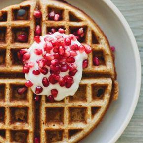 Multigrain waffles | Healthy Breakfast | Pinterest