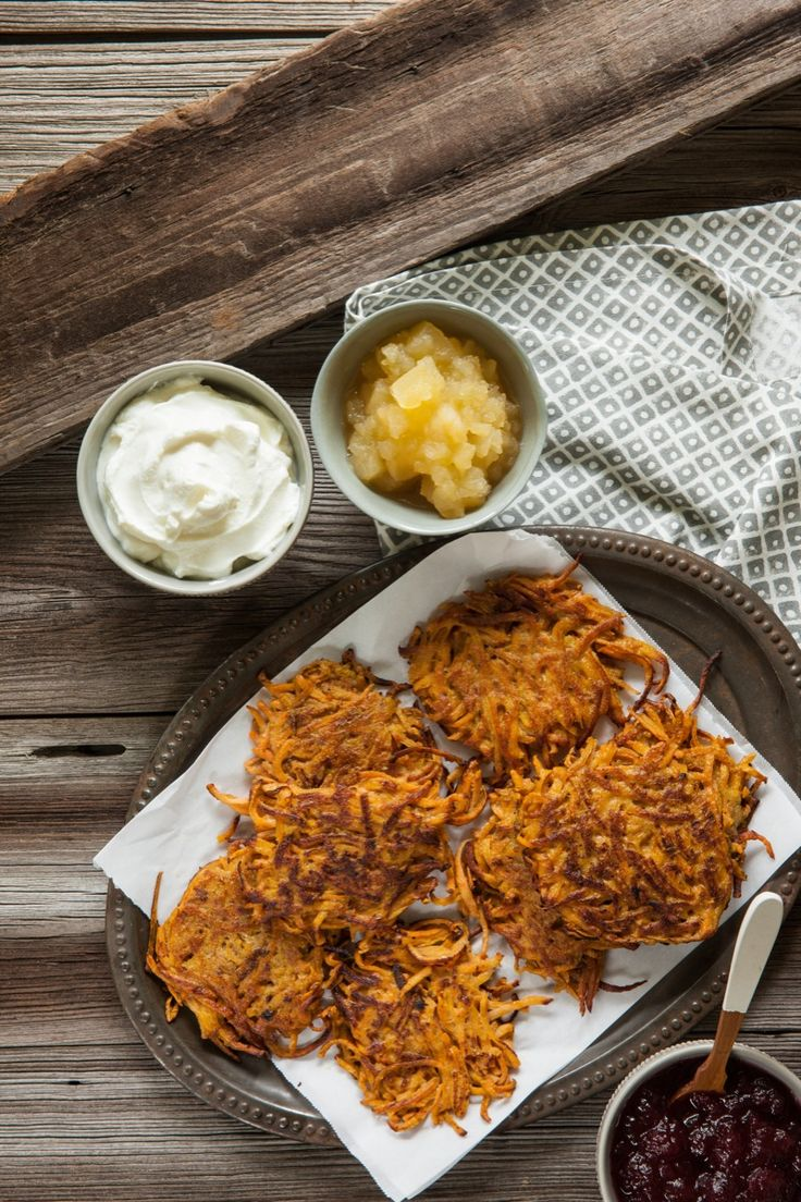 Sweet Potato Latkes - Read More at Relish.com