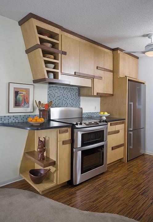 Contemporary galley kitchen otogawa anschel design build for Contemporary galley kitchen designs