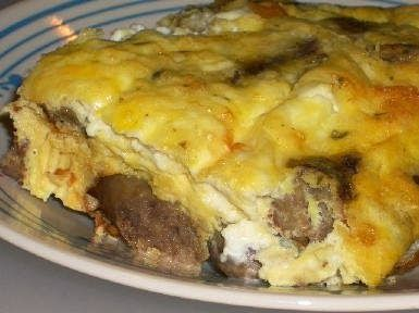 Sausage, Mushrooms, and Feta Baked with Eggs [from Kalyn's Kitchen] I ...
