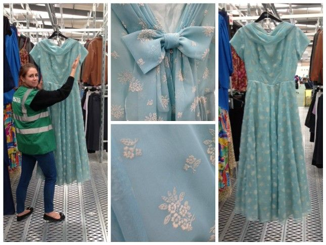 #PartyDresses: #BehindTheScenes at Milton Point | #Fashion #blog | #Oxfam GB