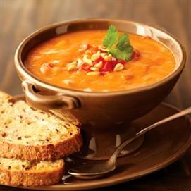 Curried Tomato-Peanut Soup | Recipe