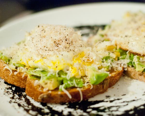 Avocado and Egg Sandwich - put on some GF toast and you've got a ...