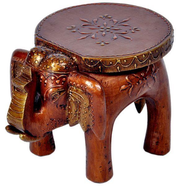 Wooden Elephant Stool Elephant Entry Hall Pinterest 400 x 300