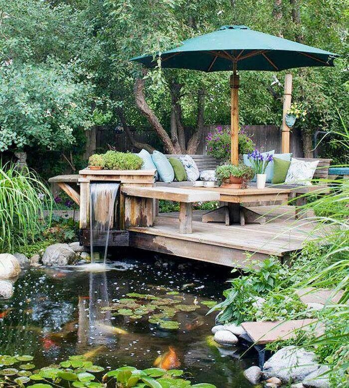 backyard getaway outdoor garden pinterest