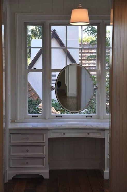 Excellent Hanging Mirror In Front Of Window  Bathroom  Pinterest