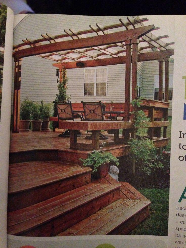 Great Backyard Decks : Backyard deck  corys  Pinterest