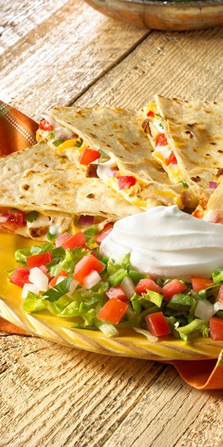 Chicken Fajita Quesadillas | Recipe