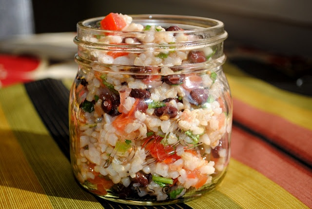 Healthy Fiesta Lime Rice - Fit Foodie Finds