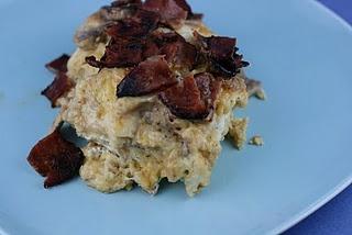 Ultimate Breakfast Casserole - slow cooker recipe - eggs, bacon, bread ...