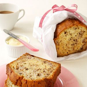 Prepare this nutty banana bread as an edible gift for someone you love ...