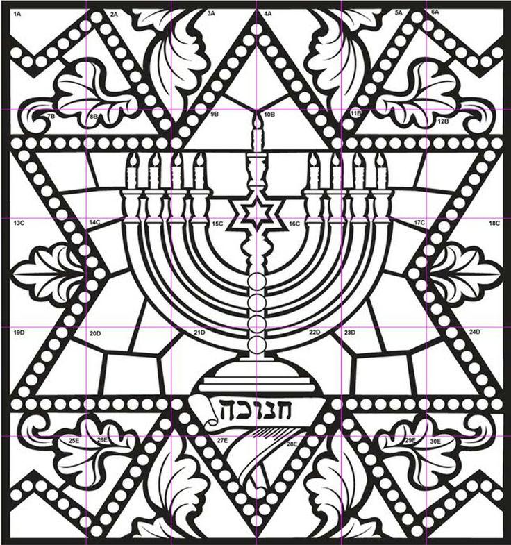 45 coloring pages hanukkah menorah hanukkah murals color pagesmenorah coloring pages