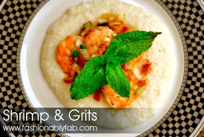 fashionably fabulous fab recipe shrimp amp grits