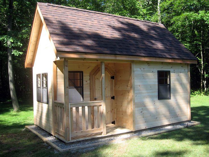 Cottage shed amish yard garden sheds pinterest for Cottage sheds