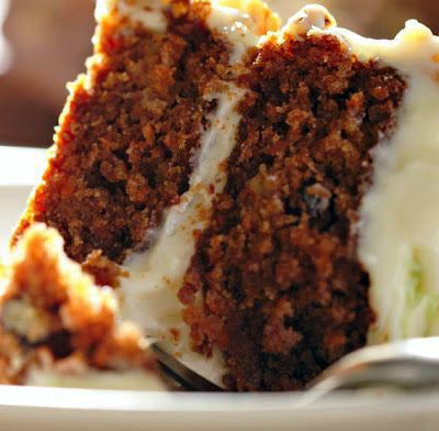 Blue Ribbon Carrot Cake with Buttermilk Glaze and Cream Cheese Frosting