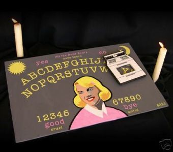 Sylvia Plath Ouija Board