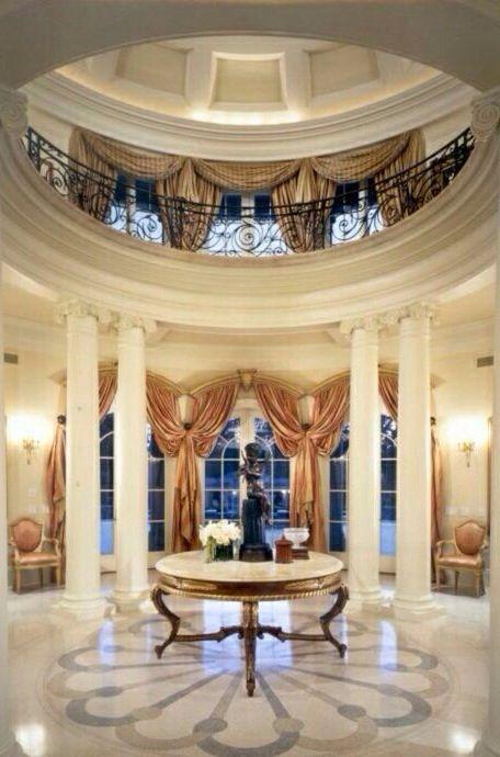 Foyer Luxury : Luxury foyer entrances in mansions⭐️ interior ideas