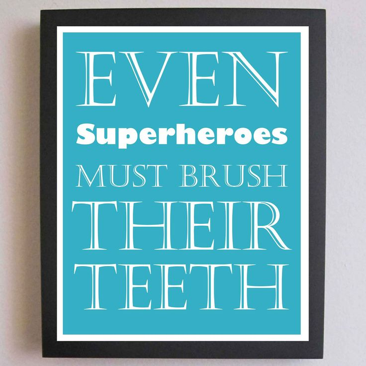 Super cute saying for the kids' bathroom. Children's Decor ...
