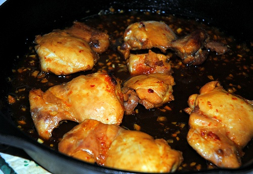 Asian-Glazed Chicken Thighs | My Blog! | Pinterest