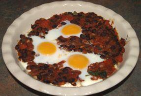 Mexican Baked Eggs | Breakfast | Pinterest
