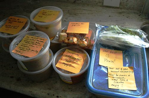 Storing soups for a sick person | Fun food and recipes | Pinterest