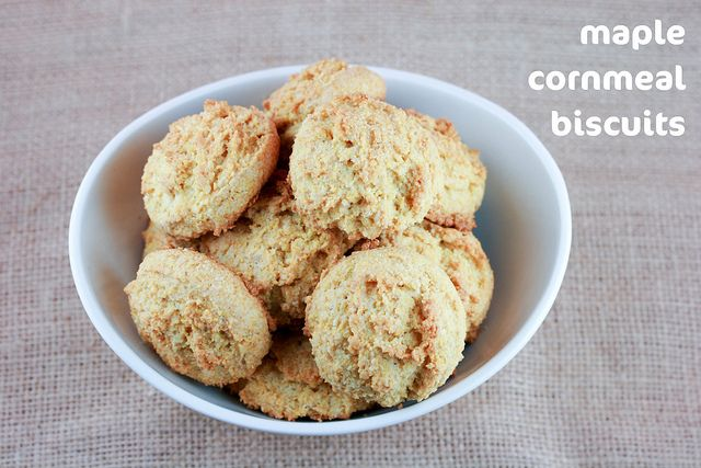 Maple Cornmeal Biscuits | Recipes | Pinterest