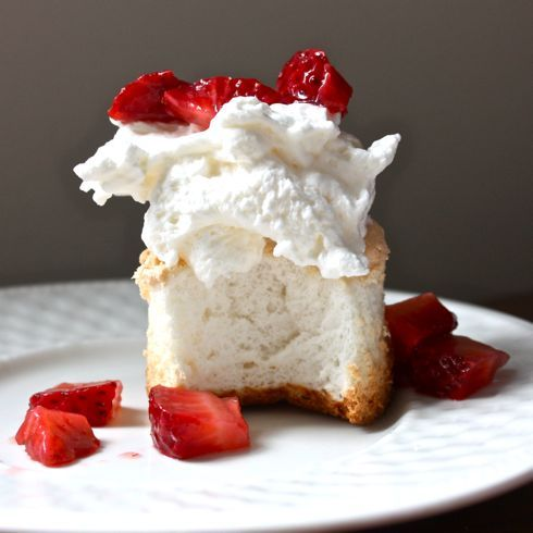 Angel Food Cupcakes Recipe — Dishmaps