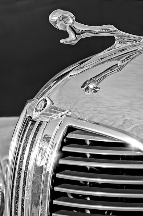 1938 dodge ram hood ornament 4 print by jill reger. Cars Review. Best American Auto & Cars Review