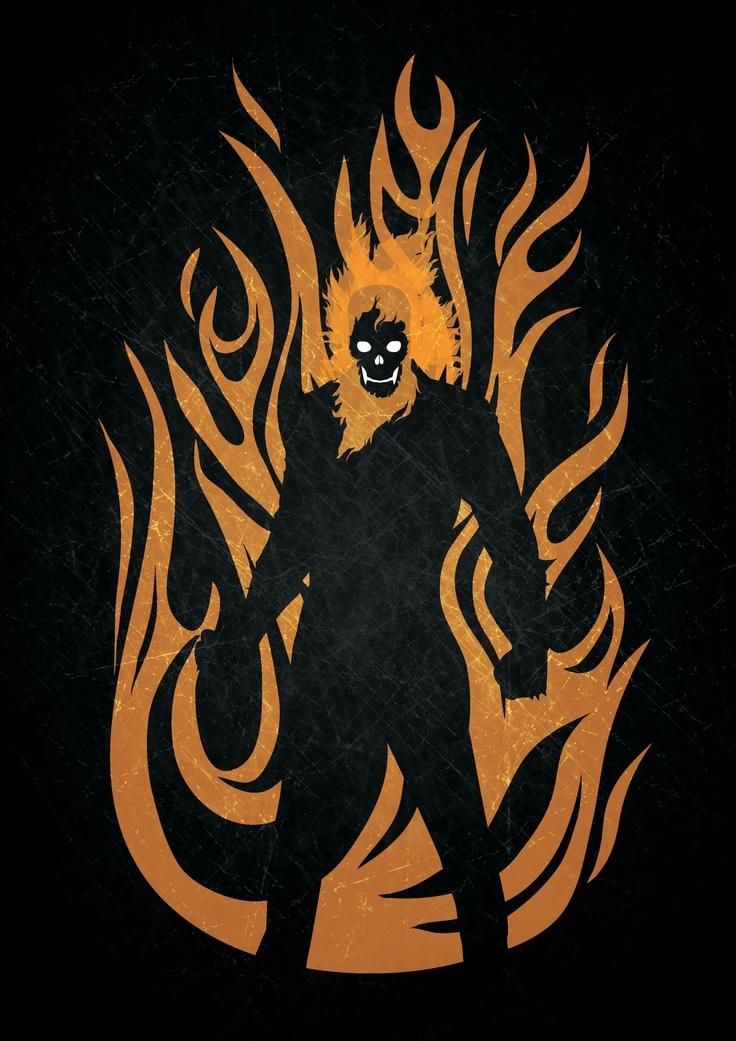 Ghost Rider by Kosol T.