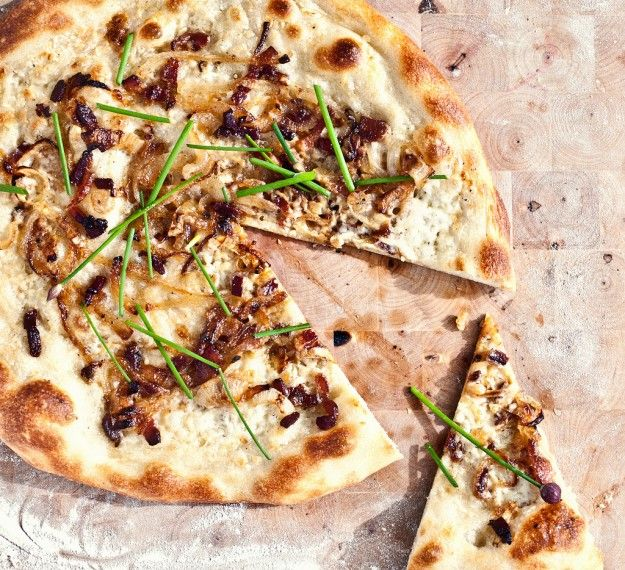 Tarte Flambee | The Savory | Pinterest