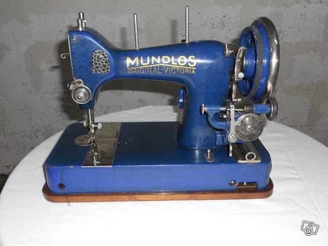 Mundlos original victoria vintage machines coudre for Machine a coudre victoria