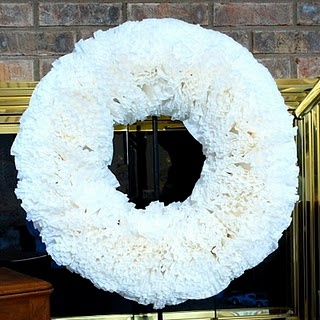 Coffee Filter Wreath   Do It Your Own Doggone Self: DIYODS   Pintere ...
