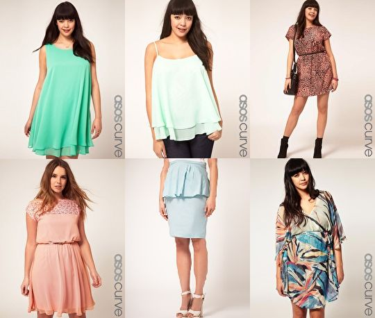 Clothing stores like asos